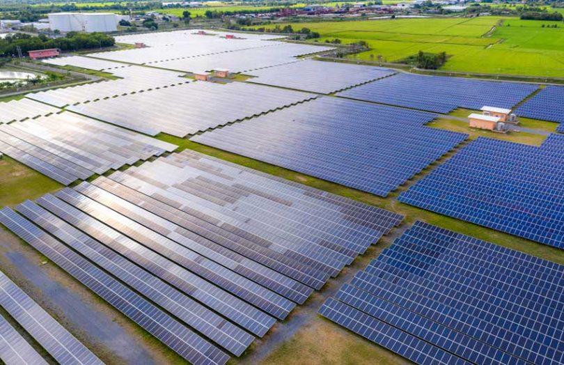 solar farm photovoltaics renewables