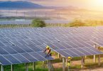 solar panel farm renewables