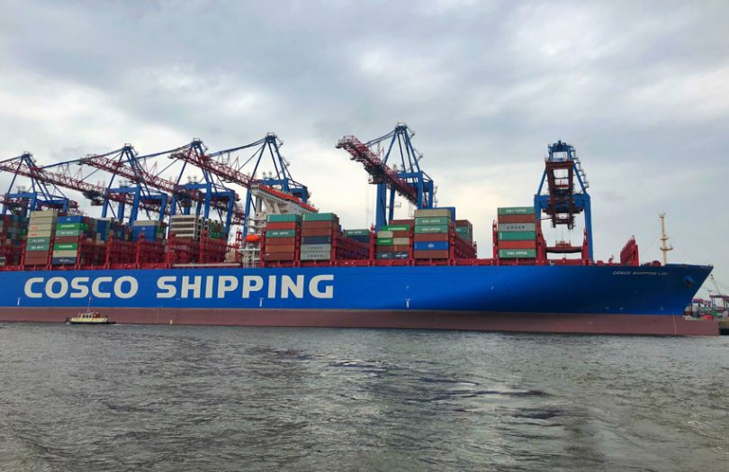 cosco shipping container