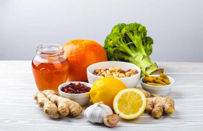 food vegetables fruits