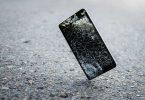mobile damage screen broken