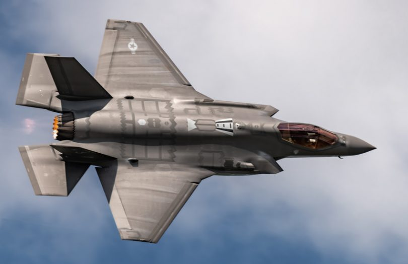 F-35 fighter jet defense