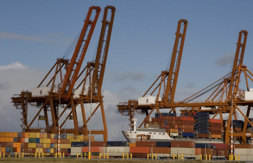 amsterdam port container shipping