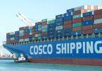 china trade container ship cosco
