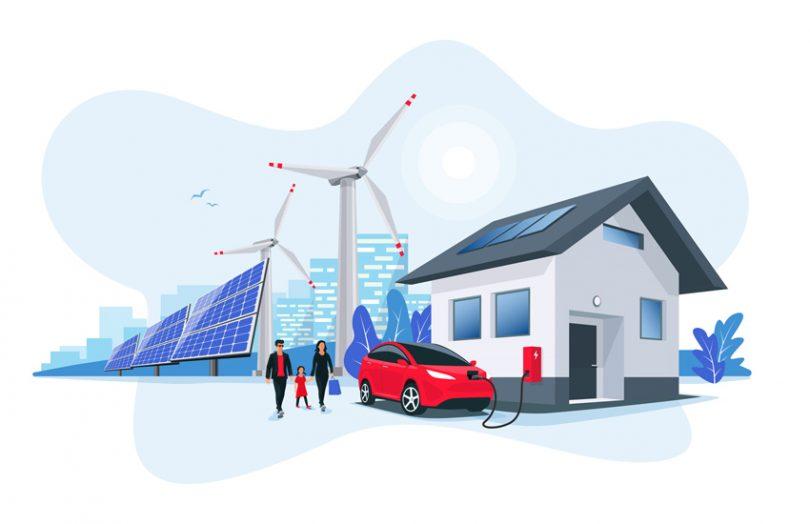 renewable energy electric vehicle