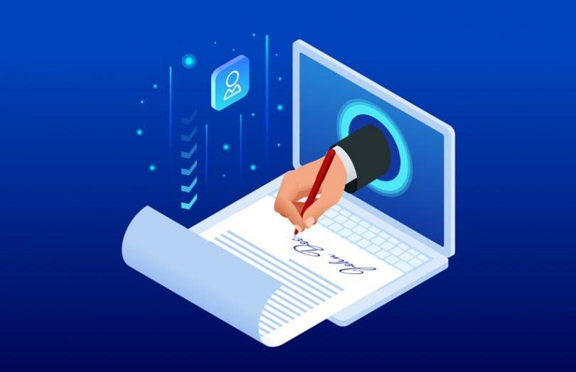 electronic signature e-sign