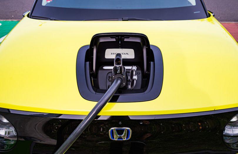 honda electric car charging