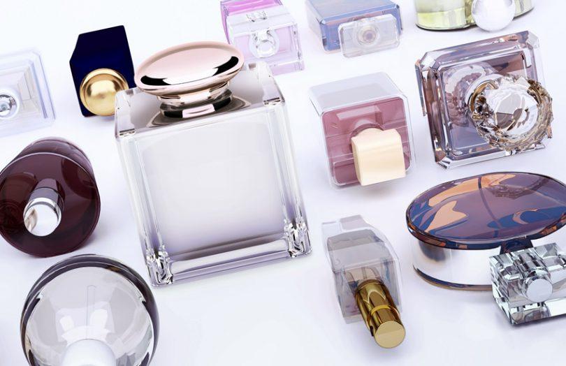 glass bottles cosmetics