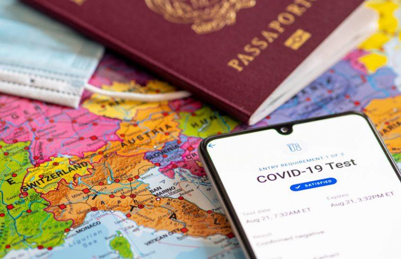 health certificate passport travel