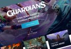 blockchain games nft guild of guardians