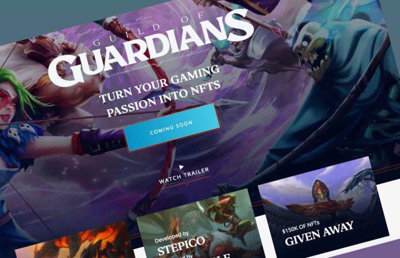 blockchain games nft guild of guardians