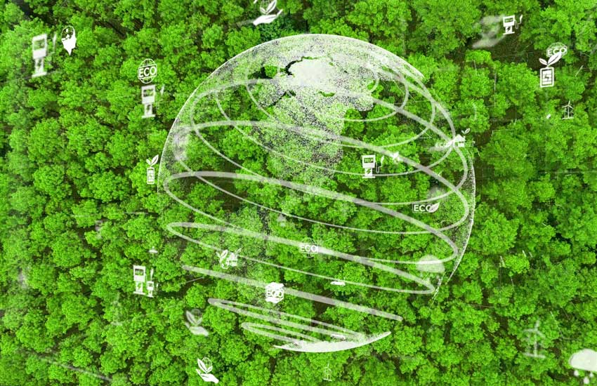 carbon offset forest climate change esg