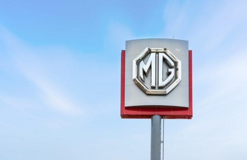 MG auto cars