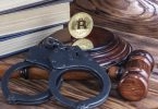 bitcoin cryptocurrency handcuffs